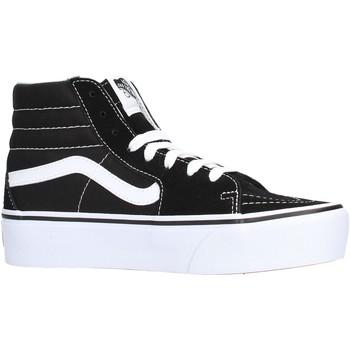 3e8cf401e6 Sapatos Mulher Sapatilhas de cano-alto Vans - Sk8-hi nero VN0A3TKN6BT1