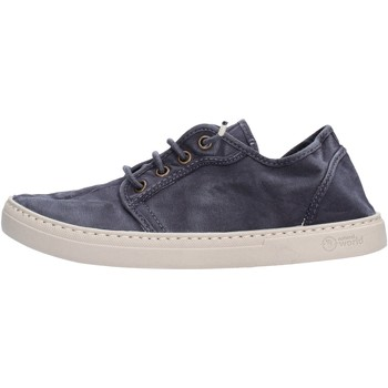 Sapatos Mulher Sapatilhas Natural World - Sneaker blu 6302E-677 BLU