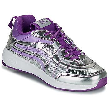 Sapatos Rapariga Sapatilhas com rodas Heelys NITRO Prata / Violeta