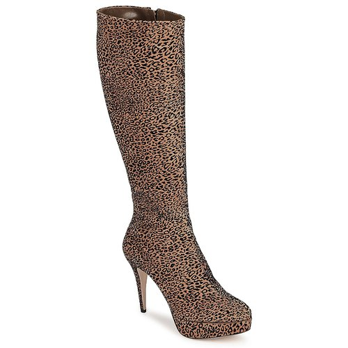 Sapatos Mulher Botas Sebastian FLOC-LEO Leopardo