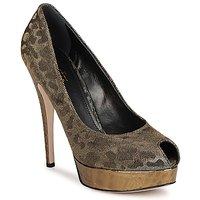 Sapatos Mulher Escarpim Sebastian TESS Cinza / Dourado