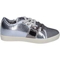 Sapatos Rapariga Sapatilhas Enrico Coveri BR260 Prata