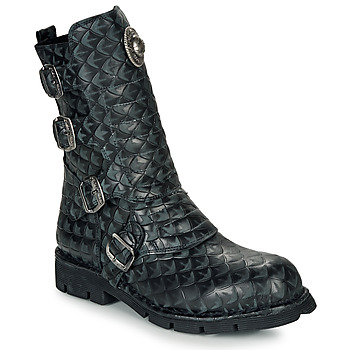 Sapatos Botas baixas New Rock  Preto