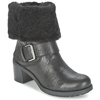 Sapatos Mulher Botas baixas Clarks PILICO PLACE Preto