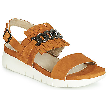 Sapatos Mulher Sandálias Dorking 7863 Castanho