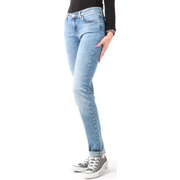 Textil Mulher Gangas Skinny Wrangler Slim Best Blue W28LX794O blue