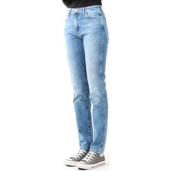 Textil Mulher Gangas Skinny Wrangler Boyfriend Best Blue W27M9194O blue