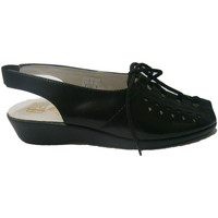 Sapatos Mulher Sandálias Doctor Cutillas Doutor Cutillas laços sandália em preto negro
