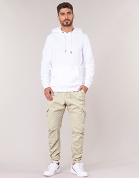 Textil Homem Calça com bolsos Urban Classics CARGO JOGGING PANTS Bege