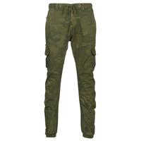 Textil Homem Calça com bolsos Urban Classics CAMO CARGO JOGGING PANTS Camuflagem