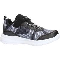 Sapatos Rapaz Sapatilhas Skechers Lava Wave sneakers nero in tela da bambino NERO