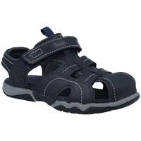 Sapatos Criança Sandálias Timberland OAK 2171A y A1LKN Sandalias Cangrejeras de Niños Azul