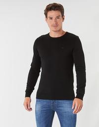 Textil Homem camisolas Tom Tailor FLORET Preto