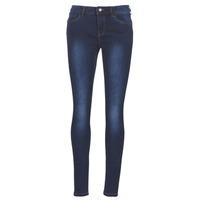 Textil Mulher Calças de ganga slim Vero Moda VMSEVEN Azul / Escuro