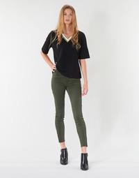 Textil Mulher Calças Vero Moda VMSEVEN Cáqui