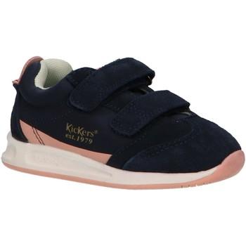 Sapatos Rapariga Multi-desportos Kickers 686290-10 KICK 18 BB Azul