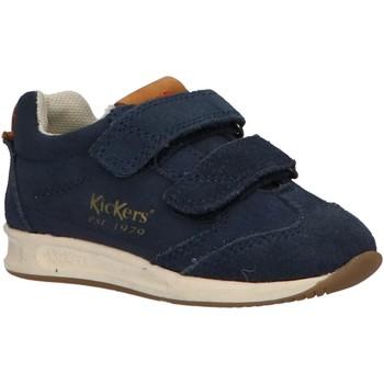 Sapatos Rapaz Multi-desportos Kickers 664580-10 KICK 18 BB Azul