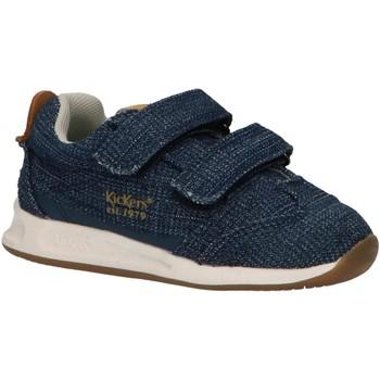Sapatos Rapaz Multi-desportos Kickers 686230-10 KICK 18 BB Azul