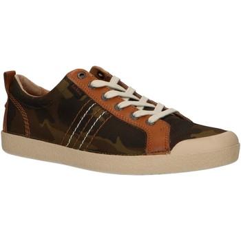 Sapatos Homem Sapatilhas Kickers 471063-60 TRIDENT Verde