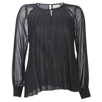 Textil Mulher Tops / Blusas Moony Mood LAURA Preto