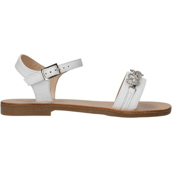 Sapatos Rapaz Sandálias Moda Positano - Sandalo bianco B3/19 BIANCO