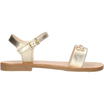 Sapatos Rapaz Sandálias Moda Positano - Sandalo platino B4/19 PLATINO