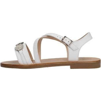Sapatos Rapaz Sandálias Moda Positano - Sandalo bianco B14/19 BIANCO