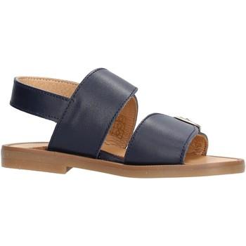 Sapatos Rapaz Sandálias Platis - Sandalo blu P4001-10 BLU