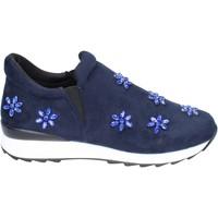 Sapatos Rapariga Slip on Holalà Sneakers BR386 Azul