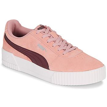 Sapatos Mulher Sapatilhas Puma COURT CALI RS Rosa