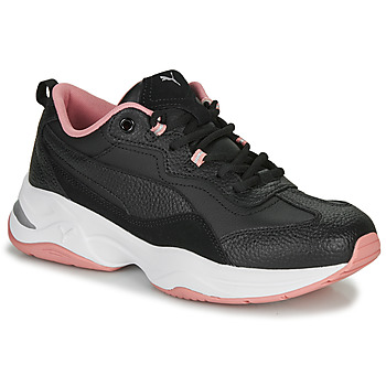 Sapatos Mulher Sapatilhas Puma WNS CILIA LUX N Preto