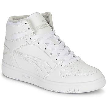 Sapatos Criança Sapatilhas de cano-alto Puma REBOUND LAYUP B Branco