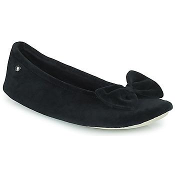 Sapatos Mulher Chinelos Isotoner 95810 Preto