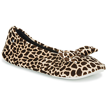 Sapatos Mulher Chinelos Isotoner 95991 Castanho