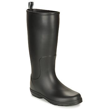 Sapatos Homem Botas de borracha Isotoner 96523 Preto