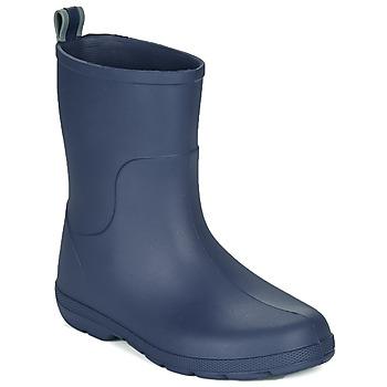 Sapatos Criança Botas de borracha Isotoner 99219 Marinho
