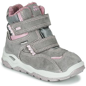Sapatos Rapariga Botas baixas Primigi WICK GORE-TEX Cinza / Rosa