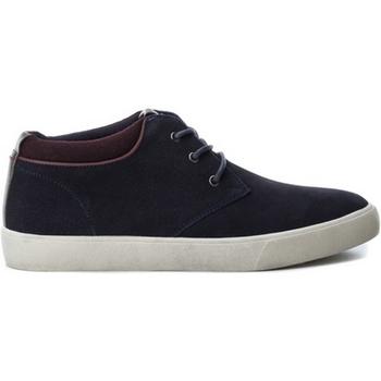 Sapatos Homem Sapatilhas B3D 40218 SERRAJE COMBINADO NAVY Azul marino