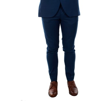 Textil Homem Calças Jack & Jones 12141112 JPRSOLARIS TROUSER NOOS MEDIEVAL BLUE Azul
