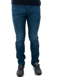 Textil Homem Calças de ganga slim Jack & Jones 12143850 JJITIM JJORIGINAL JJ 320 NOOS BLUE DENIM Azul oscuro