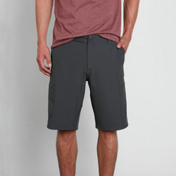 Textil Homem Shorts / Bermudas Volcom Snt Dry Cargo 21 Charcoal Heather
