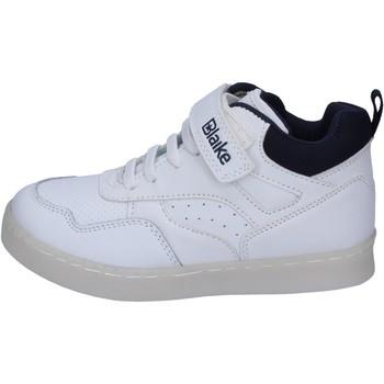 Sapatos Rapaz Sapatilhas de cano-alto Blaike sneakers pelle sintetica Bianco