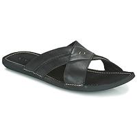 Sapatos Homem Chinelos Kickers SPOCK Preto