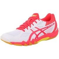 Sapatos Mulher Sapatilhas de corrida Asics Gelblade 7 100 Womens Branco, Cor-de-rosa