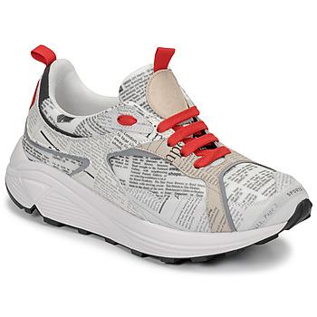 Sapatos Homem Sapatilhas John Galliano 8516 Cinza