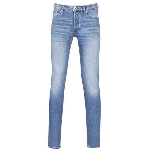Textil Homem Calças de ganga slim Jack & Jones JJIGLENN Azul / Claro