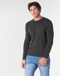 Textil Homem camisolas Jack & Jones JJEBASIC Cinza
