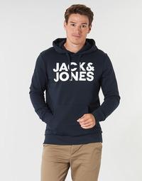 Textil Homem Sweats Jack & Jones JJECORP LOGO Marinho