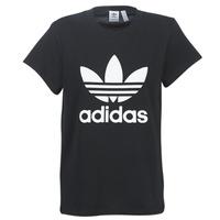 Textil Mulher T-Shirt mangas curtas adidas Originals BOYFRIEND TEE Preto