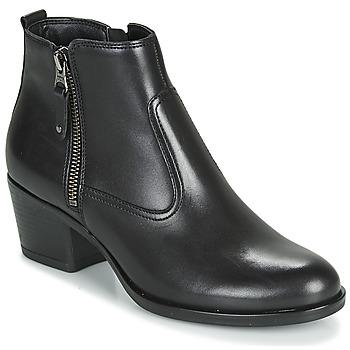 Sapatos Mulher Botas baixas André MADRID Preto